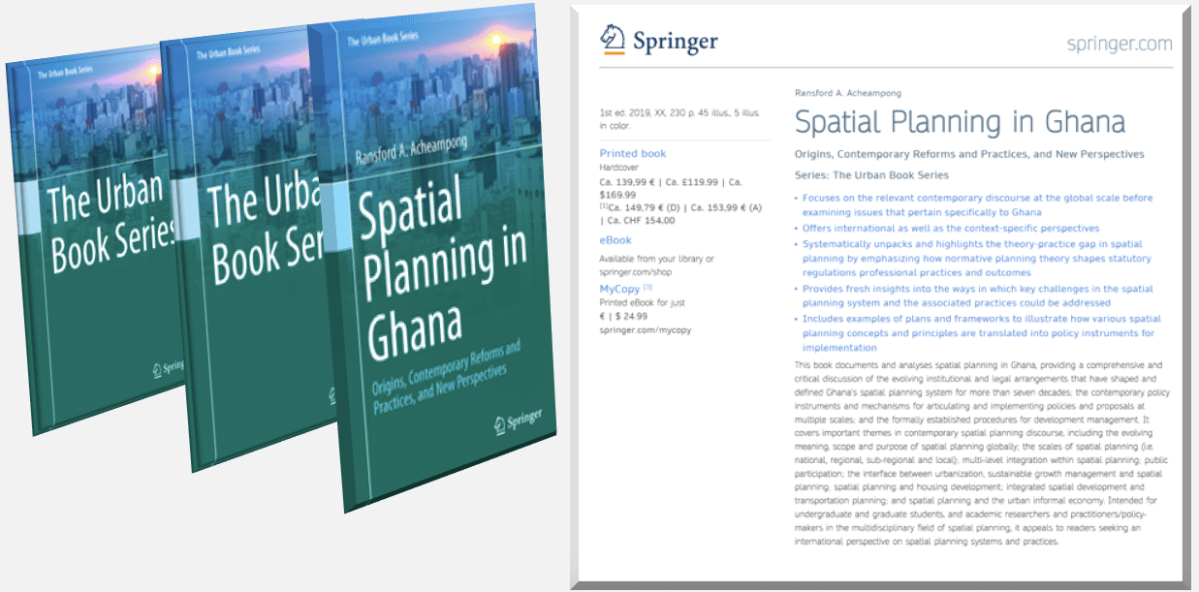 New Book on Spatial Planning